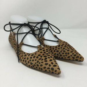 Sole Society Georgina Size 8.5 Brown Shoes Flats